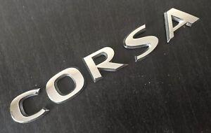 Vauxhall-Opel-Corsa-carta-Trasera-Logo-emblema-insignia-A35