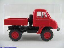 Brekina 39000 Unimog 411 Pritsche (1956-1974) in rot 1:87/H0 NEU/OVP
