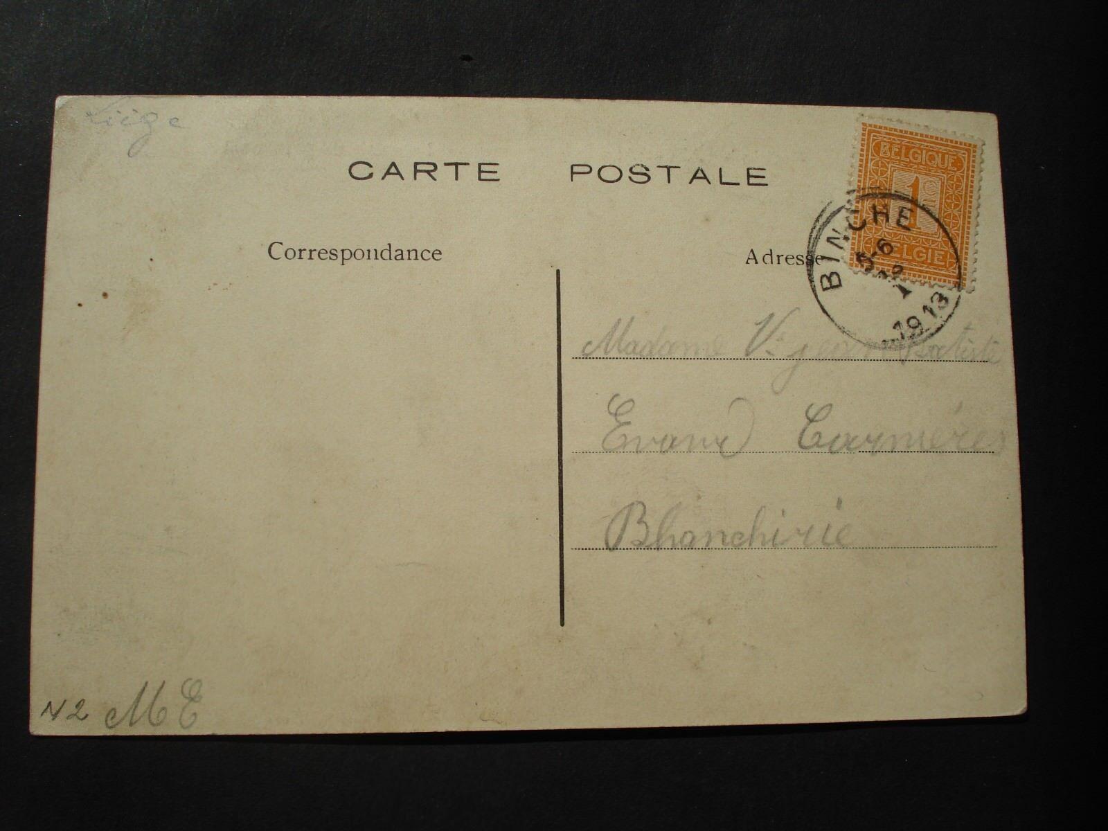 CP FABRIQUE ALLEUR ANS FABRIQUE CP CIGARES HACHE'S LA SORTIE DU PERSONNEL  1913 407e3d