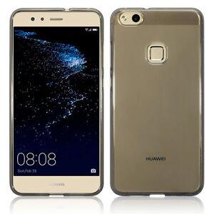 Huawei-P10-Lite-Covertech-Impact-Protection-Silicone-Gel-TPU-Bumper-Smoke-Black