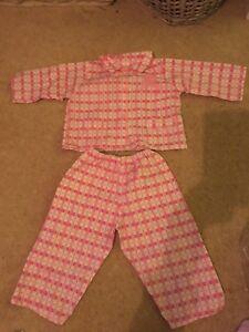 100% Vrai Smoby Rosy Doll Pyjama Outfit Set Rosie Roxy Roby-afficher Le Titre D'origine Facile à Lubrifier