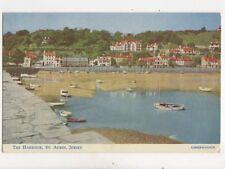 The Harbour St Aubin Jersey 1956 Postcard 274b