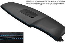BLUE STITCH TOP DASH DASHBOARD SKIN COVER FITS RANGE ROVER VOGUE L322 02-12