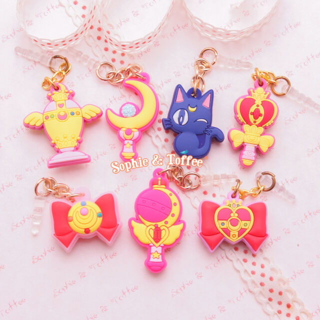 Sailor Moon Theme Charms & Dust Plugs - 1 piece