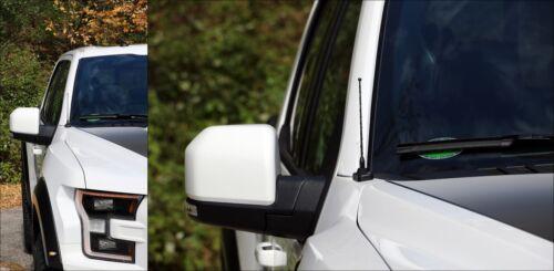 "06-19 Chevy Silverado 3500 7/"" Black Spring Stainless AM//FM Antenna Mast Fits"
