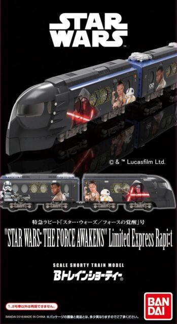 Bandai 937018 B-Train Culotte Nankai Eléctrico Vías Férreas Star Wars (Escala N)