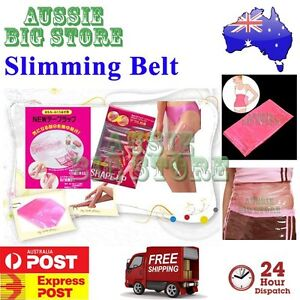5b7d79c2bd Image is loading Women-Slimming-Belt-Body-Sauna-Burn-Cellulite-Weight-