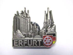 Erfurt-Thueringen-Pin-Anstecker-Metall-Germany-mit-Druckverschluss