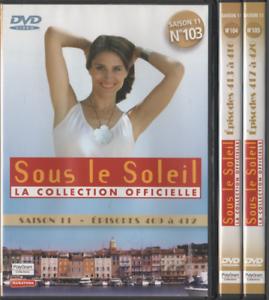 Dvd-Serie-Sous-Le-Soleil-Saison-11-Vol-103-104-105-12-episodes-3dvd
