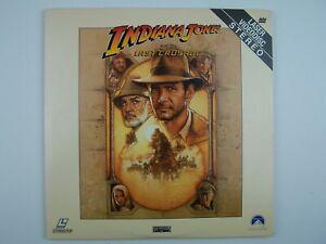 Indiana Jones and the Last Crusade LaserDisc LD 1989 LV