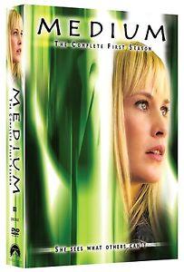 Brand-New-DVD-Medium-The-Complete-First-Season-Patricia-Arquette-Miguel-Sando