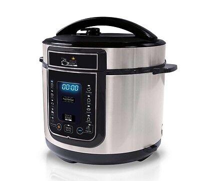 Pressure King Pro 12 in 1 Digital Electric Pressure Cooker Free Deliver Option