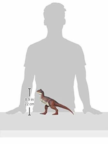 Jurassic World FMW89 Action Attaque Carnotaurus figurine dinosaure bouton presse Jaws