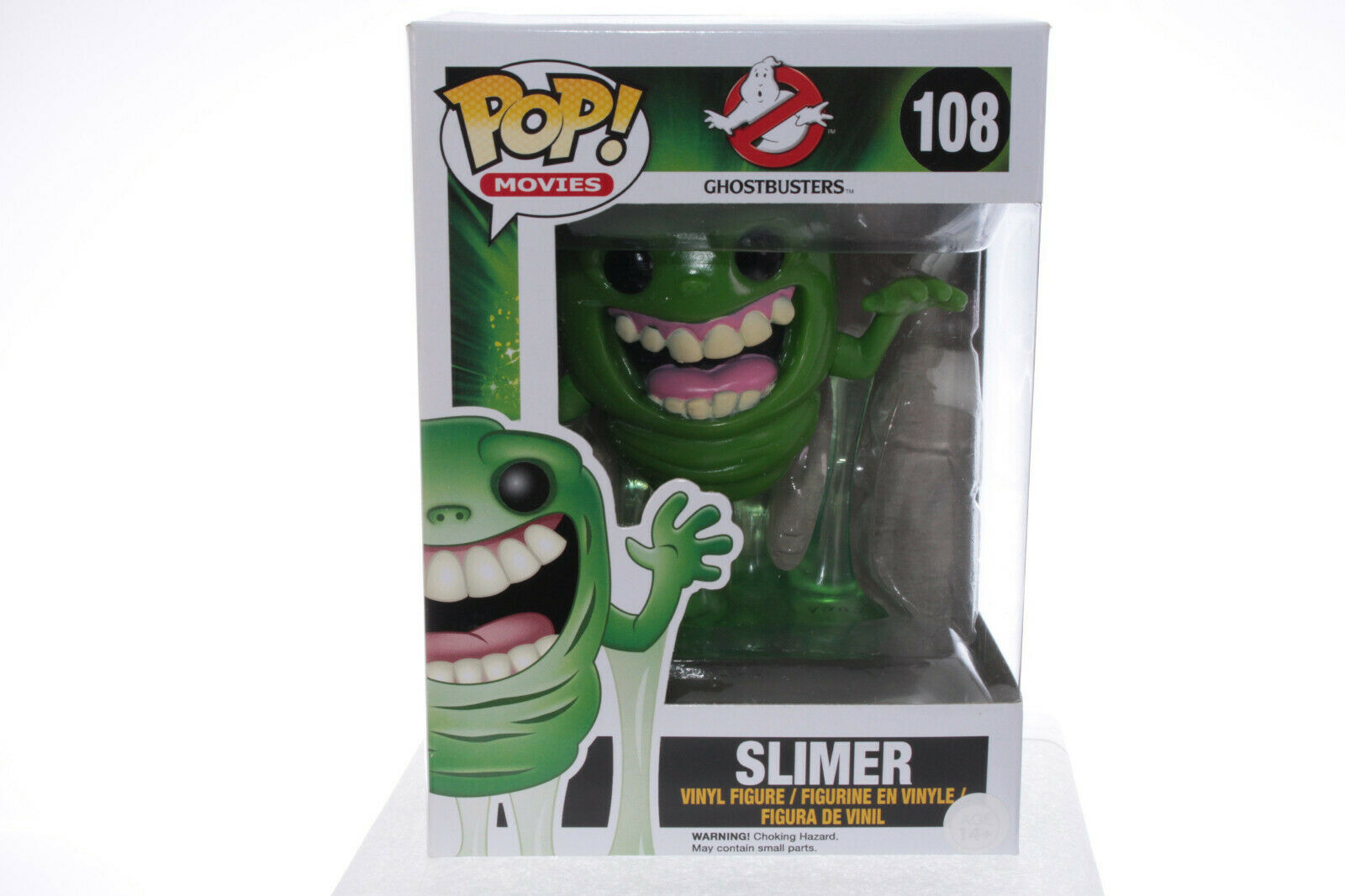 Funko POP 108 Ghostbusters  Slimer