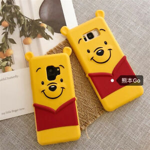 meet 4280a 978ec Details about Cute Winnie the Pooh soft case Cover for samsung galaxy S9 S8  plus iphone XS Max
