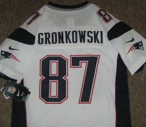 ROB GRONKOWSKI  87 NEW ENGLAND PATRIOTS YOUTH JERSEY L LARGE 14-16 ... 325c47e0ceb