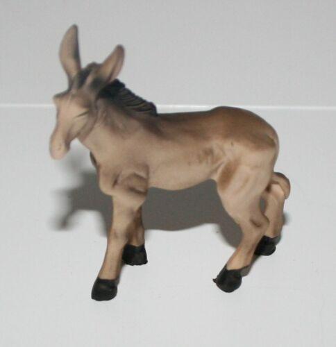 Crèches accessoires tierfigur âne debout 6 CM h polyrésine 5 cm x 1,6 cm sf crèche