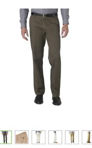 Men/'s Dockers Signature D2 Straight Fit Flat front Pants