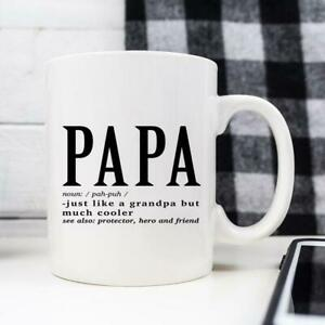 Papa-Mug-First-Fathers-Day-Gift-From-Daughter-From-Wife-For-Grandpa-From-Son