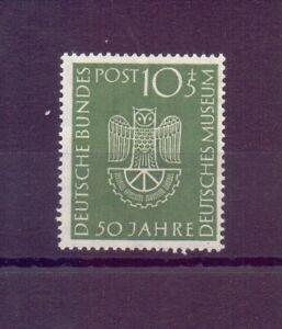 Bund-1952-Dt-Museum-MiNr-163-postfrisch-geprueft-Michel-30-00-829