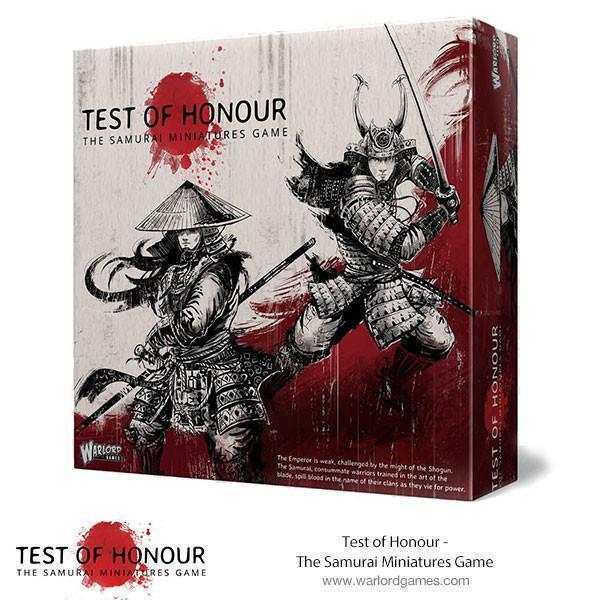 Test de Honour Ensemble de base - WARLORD GAMES - Samouraï - MAINTENANT -