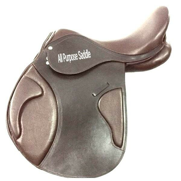 International Quality Branded Leather English  All Purpose Saddle Presstige