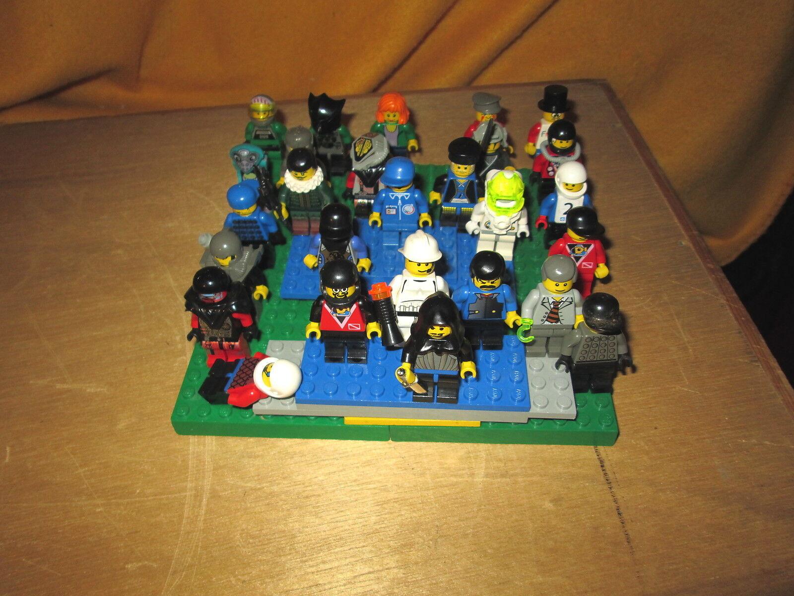 Gran Lote De 27 Mini Figuras De Legos Excelente Estado