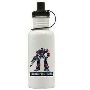 Personalized Transformers Water Bottle Gift Add Name