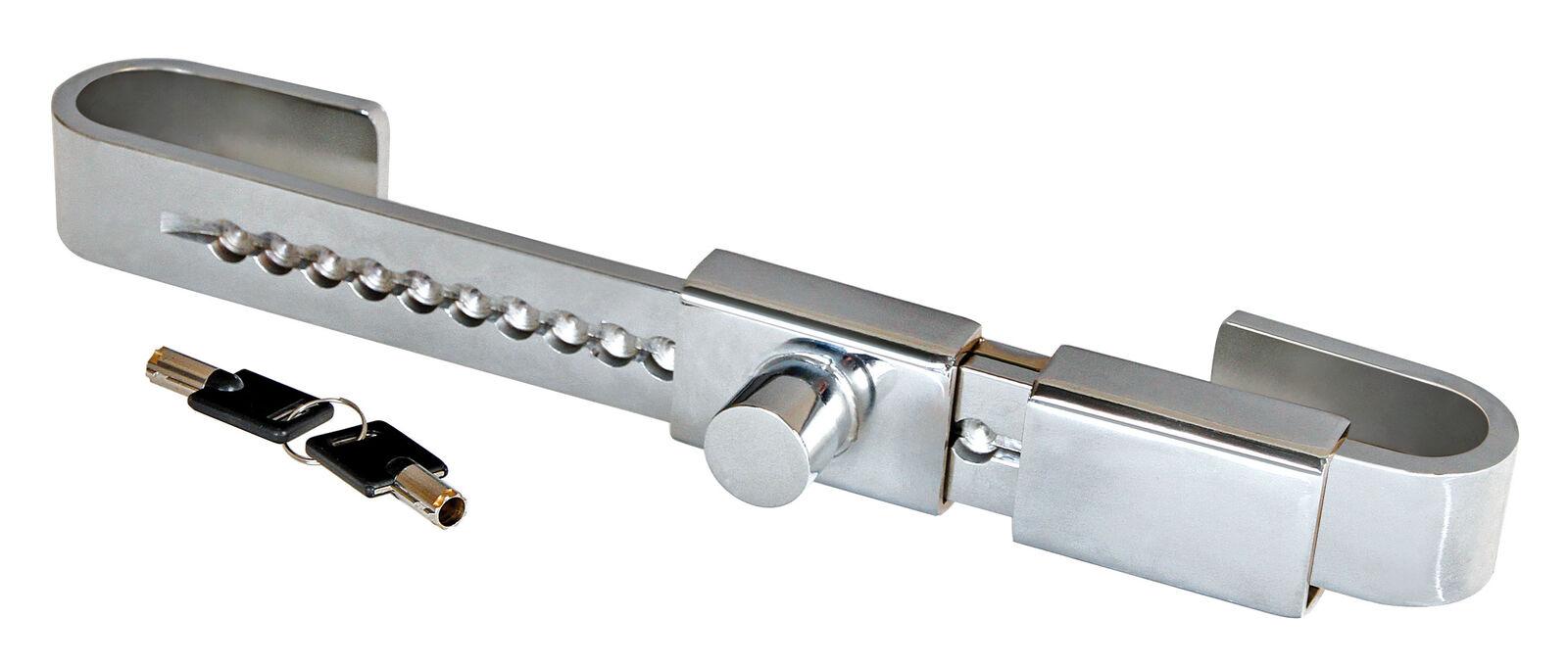 Lampa 98667 Zanna 3 lucchetto blocca-porte posteriore in acciaio inox