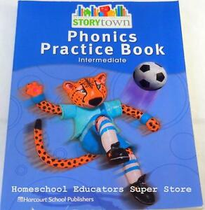 Details about HARCOURT STORYTOWN PHONICS PRACTICE BOOK 4TH GRADE 4  INTERMEDIATE NEW