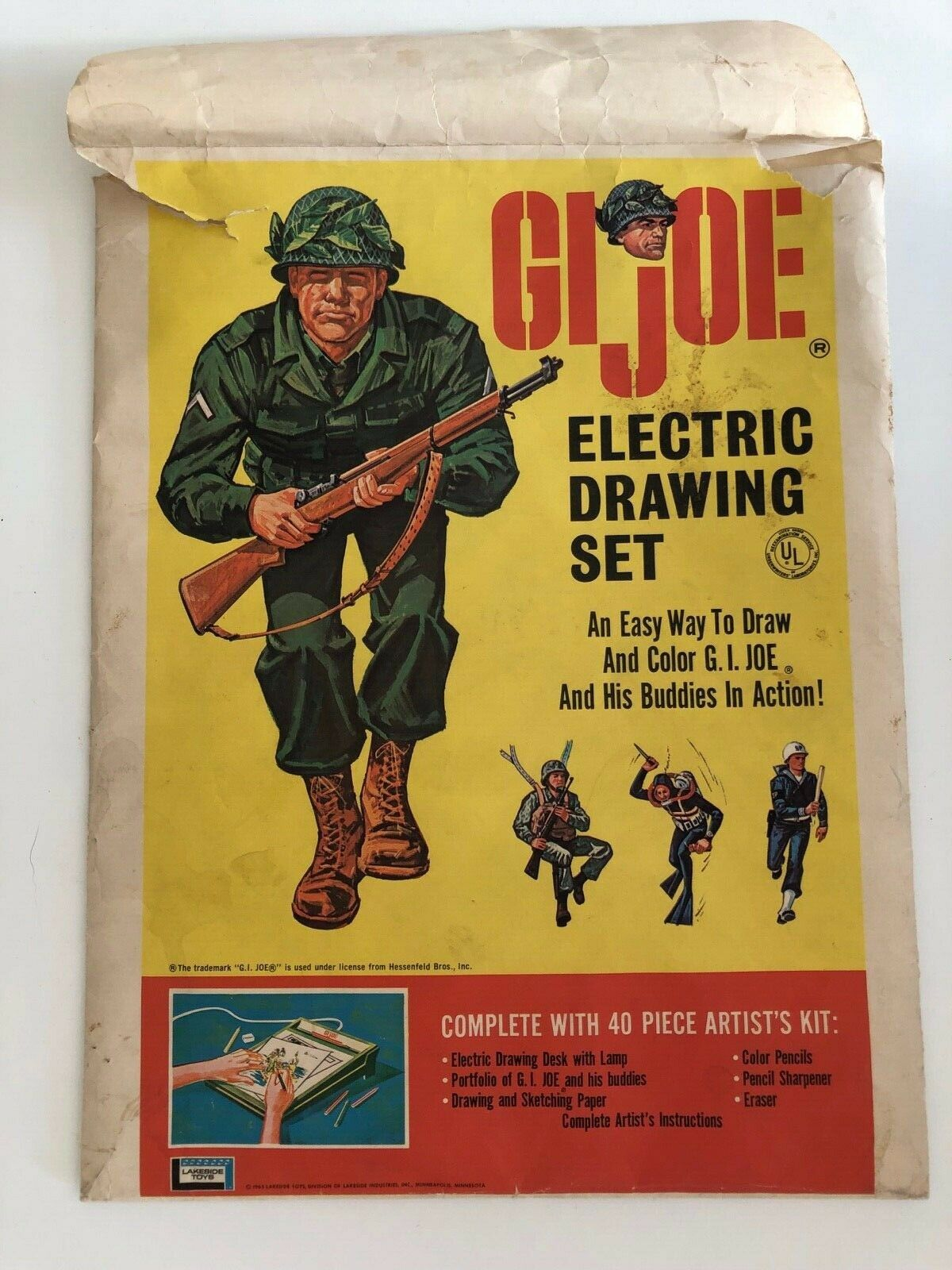 GI Joe Electric Drawing tavola