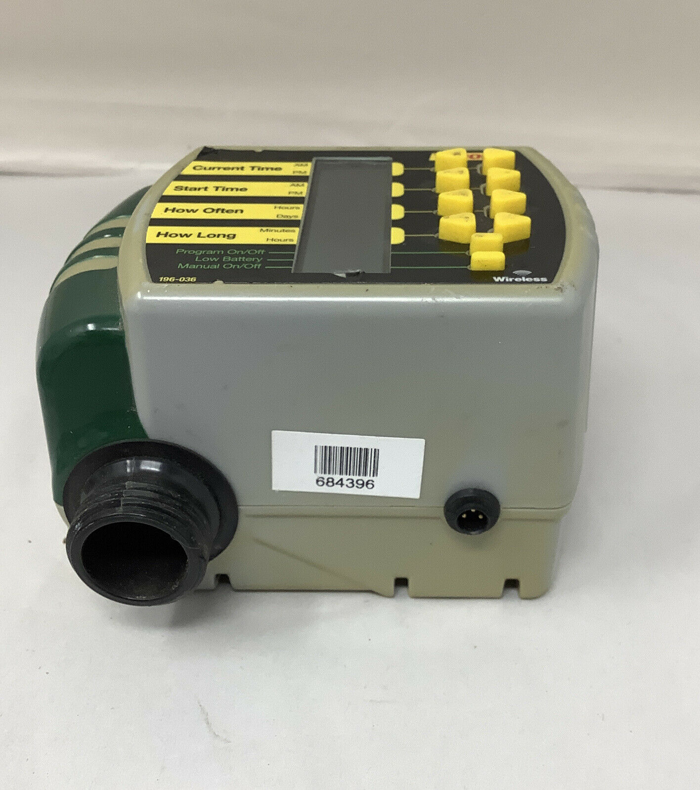 Melnor Aqua Timer Automatic 1 Outlet Water Timer Battery Powered 558-026 3015