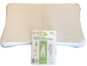Nintendo-Wii-Fit-Balance-Board-Bundle-with-Wii-Fit-Plus-Game-Tested