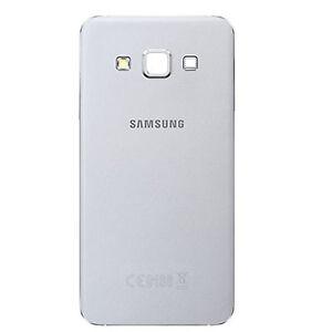 Rabat-Arriere-Samsung-Galaxy-A3-SM-A300FU-Blanc-Cover-Piece-de-rechange-Original