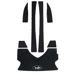 Seadoo 2001-05 GTI 2001 GTS Traction mats Foot pads Blacktip BEST TURF peelstick