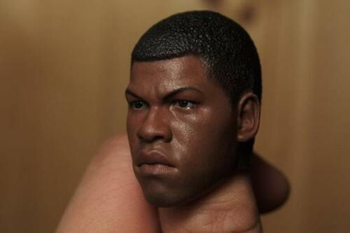 Custom 1//6 Finn John Boyega Head Sculpt For Hot Toys Star Wars Male Figure ❶USA❶