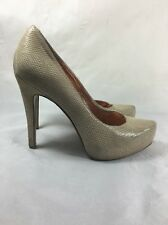 BCBG Parade Cashew Sandalwood Size 9M Platform Stilettos High Heel shoes