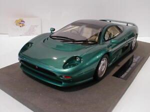 Top-Marques-TOP-39A-Jaguar-XJ-220-Baujahr-1992-034-gruen-metallic-034-1-18-NEU