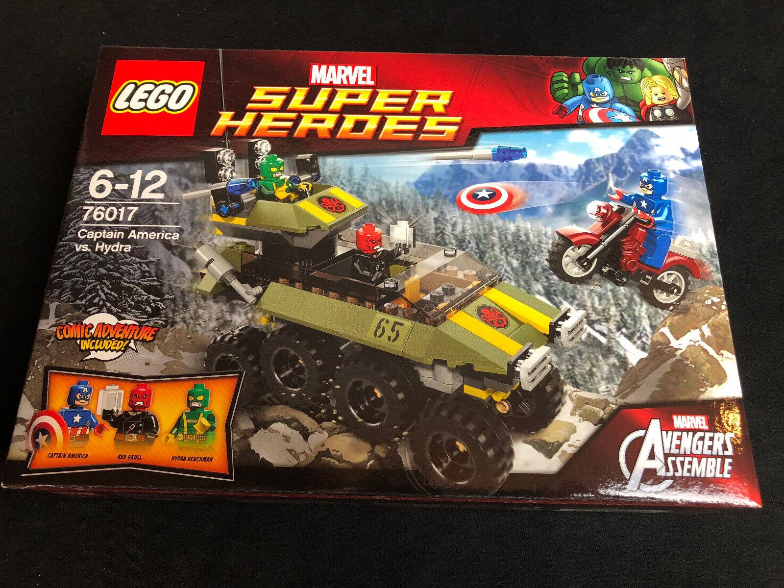 Lego 76017 Captain America vs. Hydra Cap Avengers red skull Figur NEW Neu
