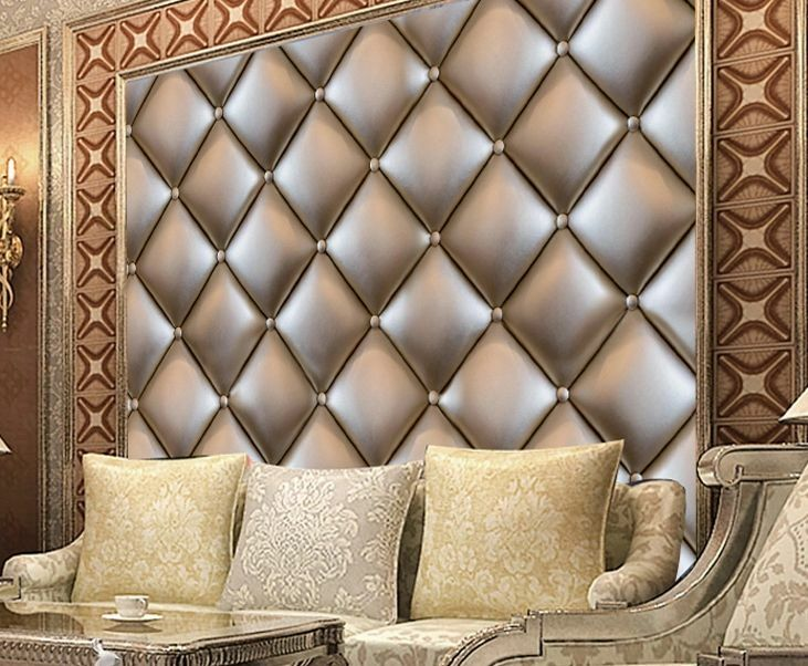 3D Many Rhombus Lattices Wallpaper Decal Decor Home Kids Nursery Mural  Home