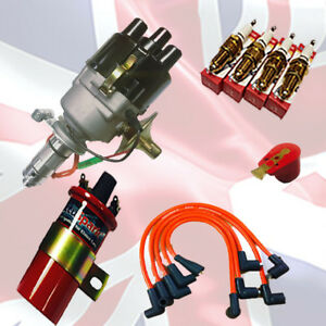 MGB-Service-Pack-De-Ignicion-Electronica-Distribuidor-bobina-Ht-Lidera-amp-Bujias