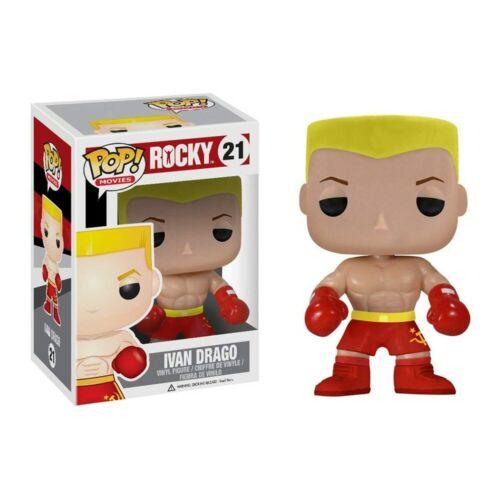 Funko pop Ivan Drago ROCKY Boxer 21 PVC Action Figure Collection en Vinyle