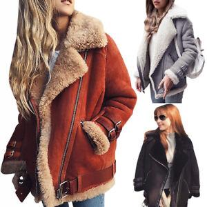 Women-Winter-Loose-Trench-Coat-Warm-Long-Jacket-Parka-Motor-Belt-Buckle-Overcoat