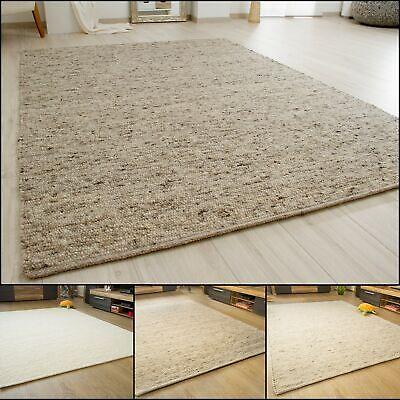 100/% Schurwolle verschiedene Farben Handwebteppich Murnau Made in Germany