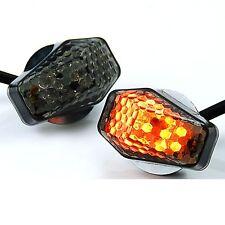 15 Amber LED Flush Mount Smoke Turn Signal Indicator Blinker Light Universal ...