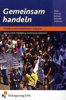 Gemeinsam handeln, Ausgabe Sachsen-Anhalt, Brandenburg u... | Buch | Zustand gut