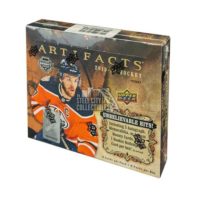 2019-20 Upper Deck Artifacts Hockey Hobby Box