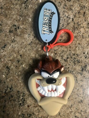 Looney Tunes Tasmanian Devil Treasure Keeper Clip On Coin Purse Vintage 90's