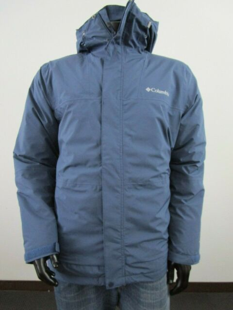 NWT Mens M Columbia Horizon Explorer Insulated Hooded Ski Winter Jacket Mountain