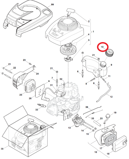 14 5hp Briggs And Stratton Wiring Diagram